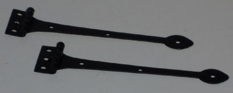 Working Strap Hinge - Black